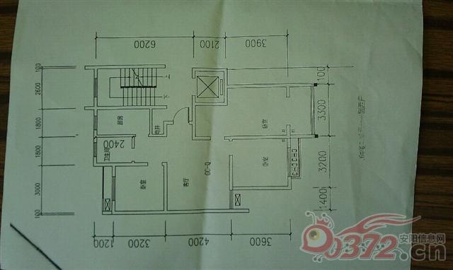 长17米宽8米房屋设计图楼梯在西北角图片